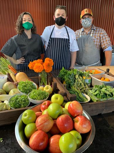 Atlanta Botanicals Chef Demo