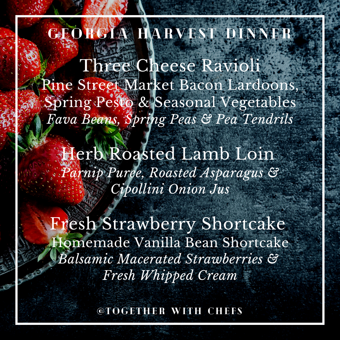 Georgia Harvest Dinner - May 22nd