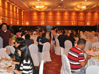 FILCOM held the annual party in HILTON HOTEL