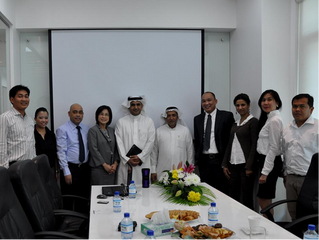 Saudi business executives visit Filcom Technologies office