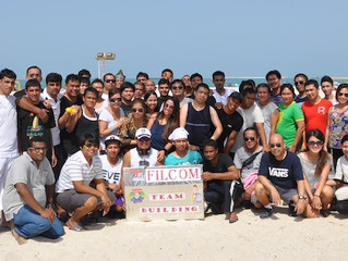 FIlcom Technologies Team Building in Jumeirah