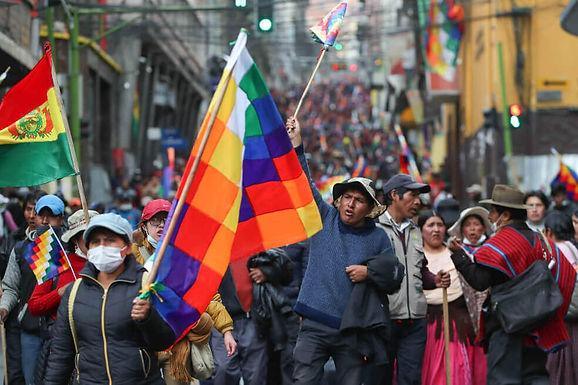 BOLIVIE : ELECTIONS ET DÉMOCRATIE MAINTENANT!