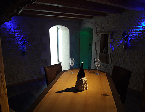 Grande table salon - Villa Boréale - L'Antre de la tentation