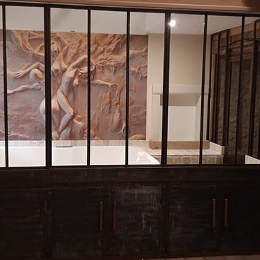 Jacuzzi tableau - Villa Boréale - L'Antre de la tentation