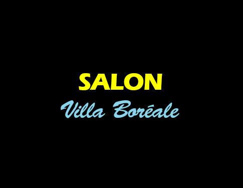 Salon - Villa Boréale - L'Antre de la tentation