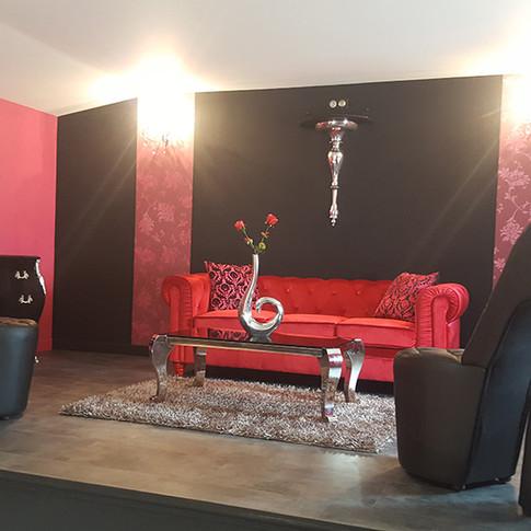 Salon - Villa Baroque - L'Antre de la tentation