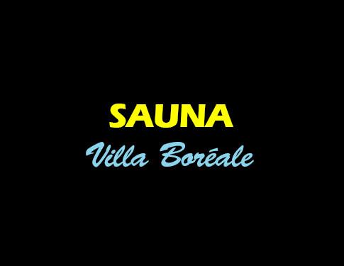 Sauna - Villa Boréale - L'Antre de la tentation