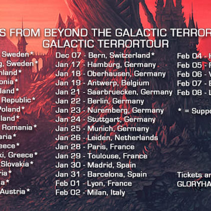Tour with GLORYHAMMER