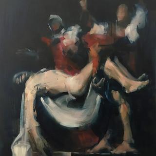 deposition after Caravaggio