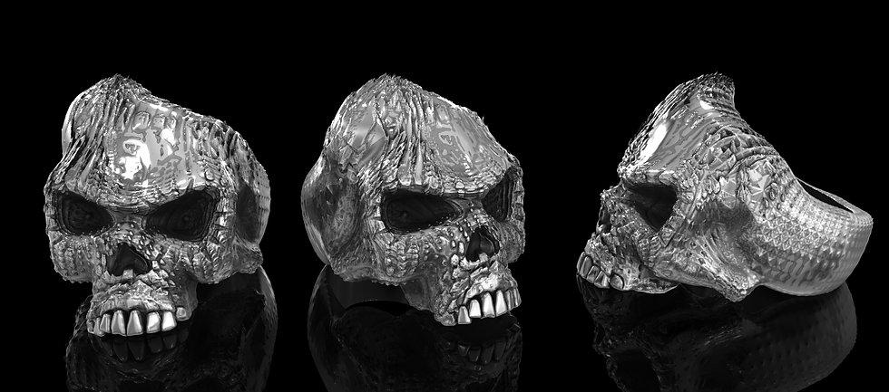 Wraith Skull Ring