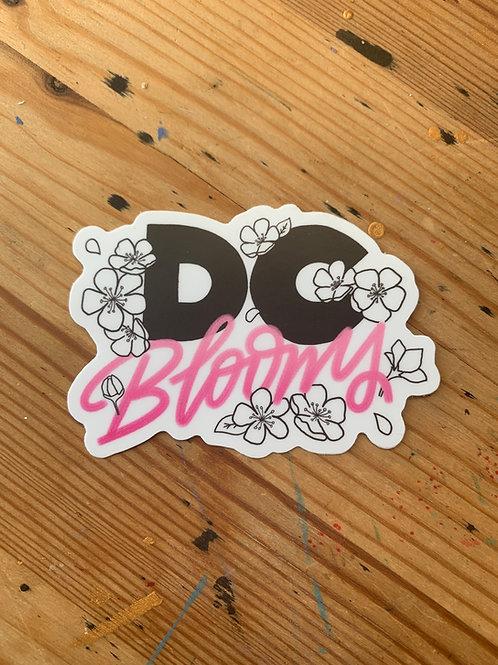 DC Blooms Sticker