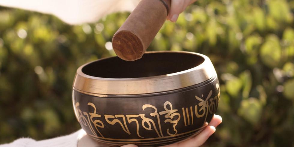 Čakrová meditace s tibetskými mísami