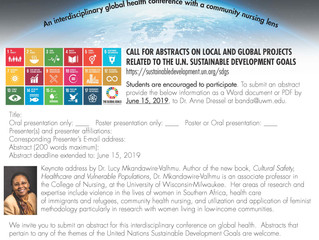 """Accepting Abstracts for """"Healthy People, Healthy Planet"""" Conference"""
