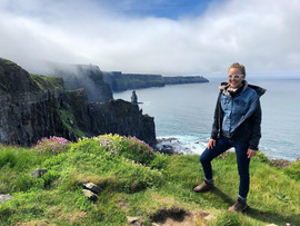 May 20, 2018   Cliffs of Moher in Ireland