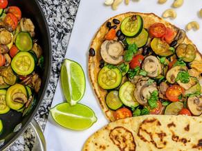 The Best Vegan Quesadilla Recipe with Cashew Cheese