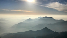 February 8, 2018   Moro Rock at Sequoia National Park