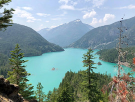 July 30, 2018 | Diablo Lake at North Cascades National Park