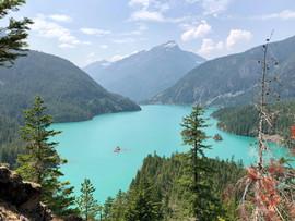 July 30, 2018   Diablo Lake at North Cascades National Park