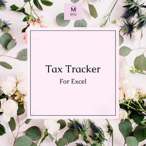 Sole Trader Tax Tracker (Excel)