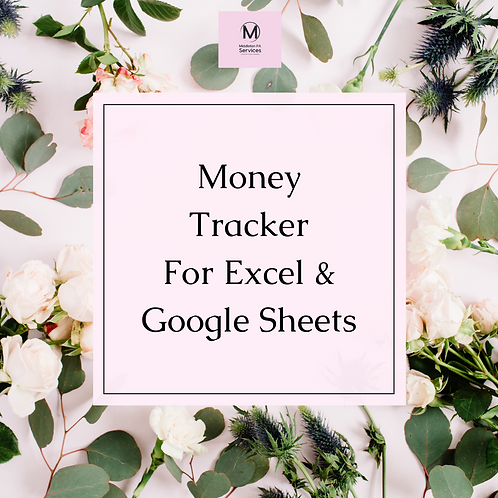 Money Tracker (Excel & Google Sheets)