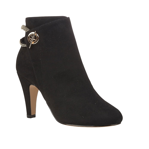 Black Whitney Ankle Boots | Lotus