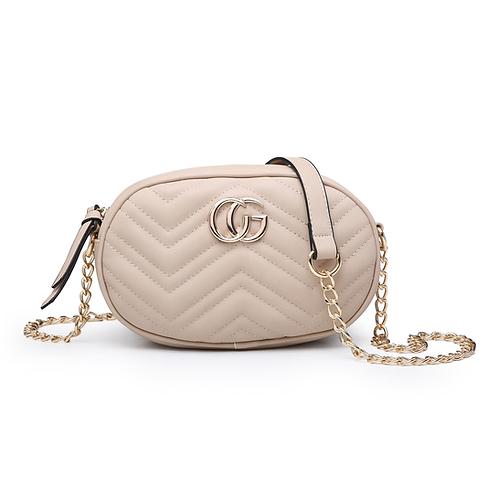 Inspired Oval Crossbody Bag