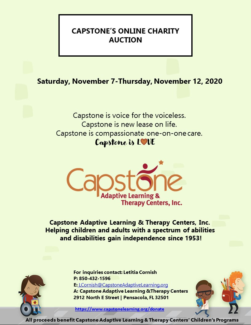 Capstone is Love Online Charity Auction