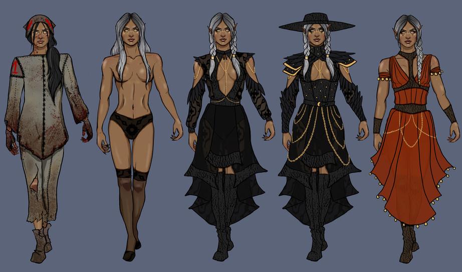 Warlock Clothing Designs