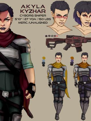 Sci Fi Sniper Concept