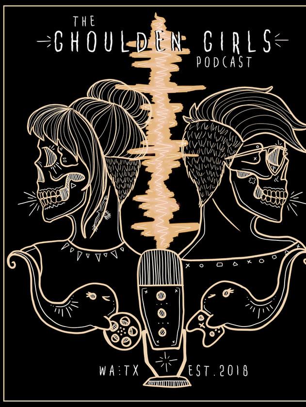 Ghoulden Girls Podcast Poster