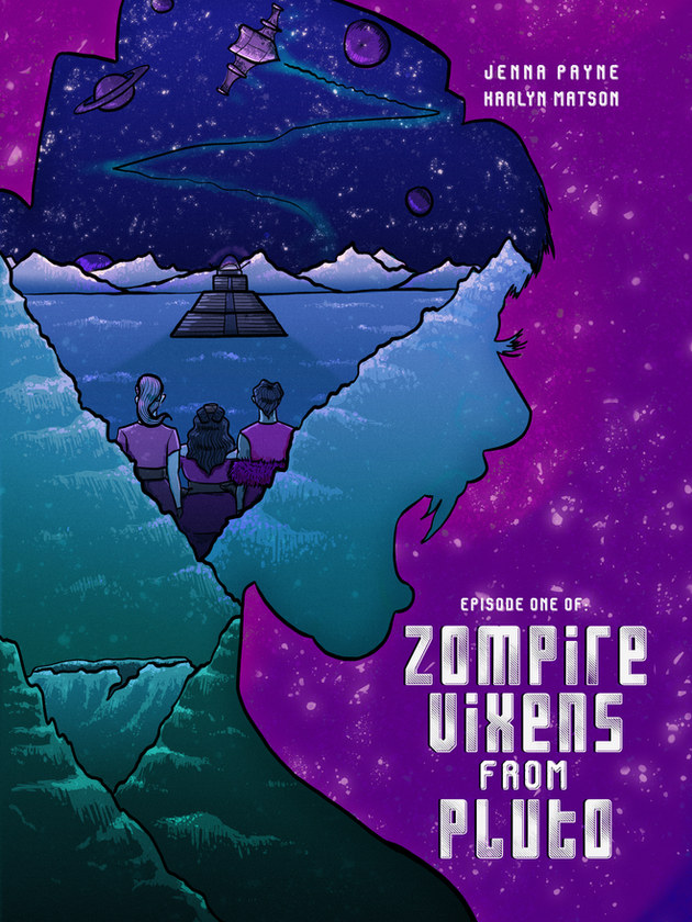 Zompire Vixens from Pluto Issue Cover