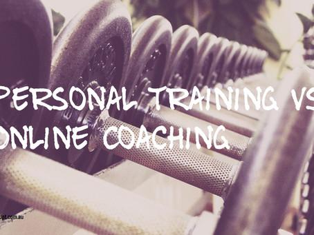 Online Coaching vs Personal Training
