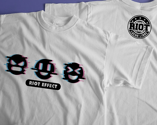 "Playera ""Riot Effect"""