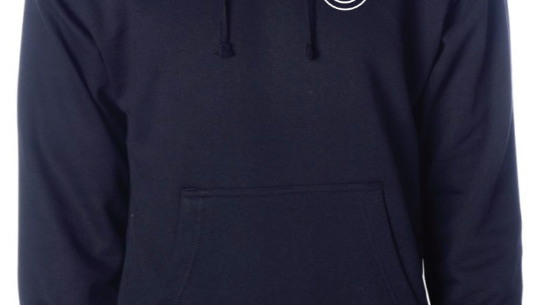 Unisex Hooded Sweatshirt Navy