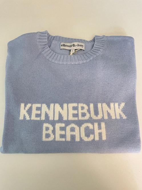Blue Kennebunk Beach Ellsworth & Ivey Crewneck Sweater