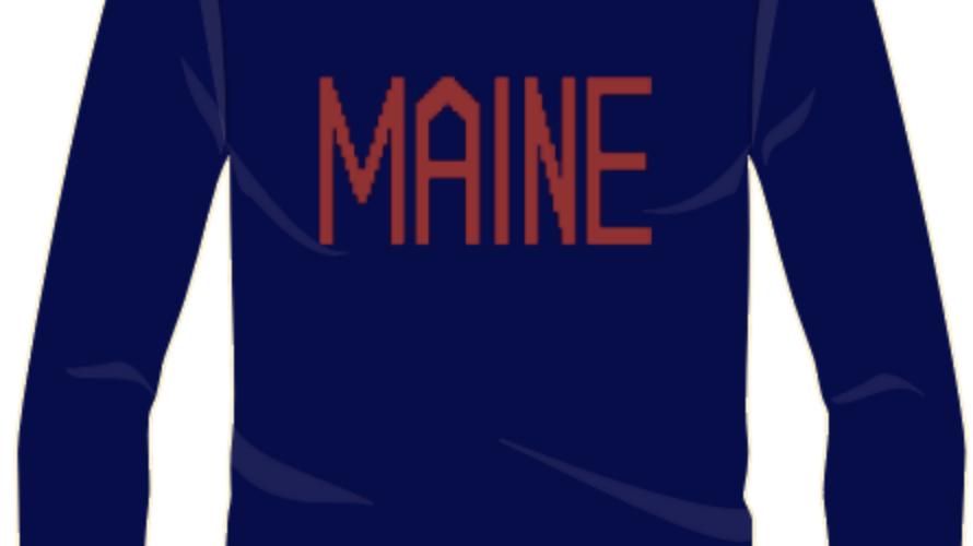 """Maine"" (The Kelley) Ellsworth & Ivey Crewneck Sweater"