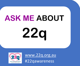 Ask me about 22q