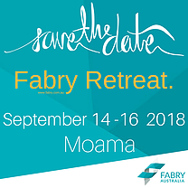 Fabry Retreat 14th to 16th Sept