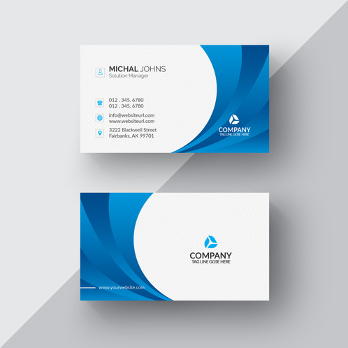 Blue white business card 2 gontobbo organization dhaka blue white business card 2 are cards bearing business information about a company or individual they are shared during formal introductions as a colourmoves Image collections