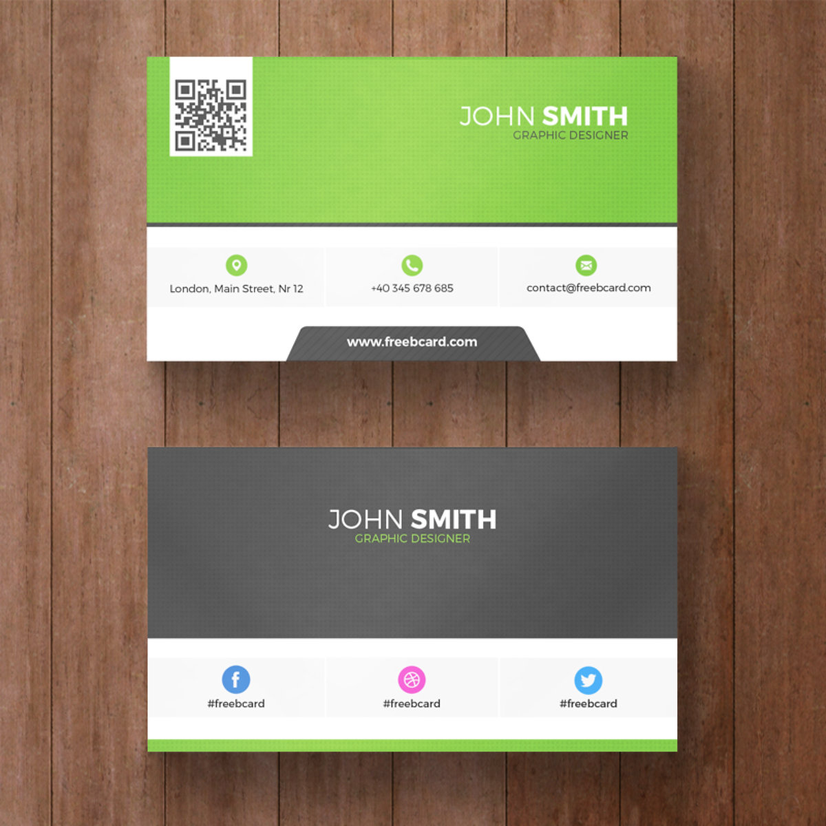 Green Business Card Image collections - Free Business Cards
