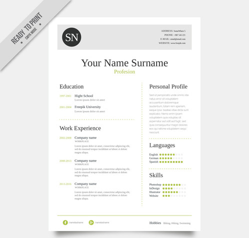 Elegant Resume Template (1)