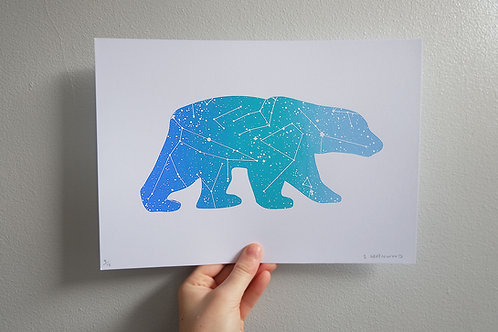 The Great Bear Print