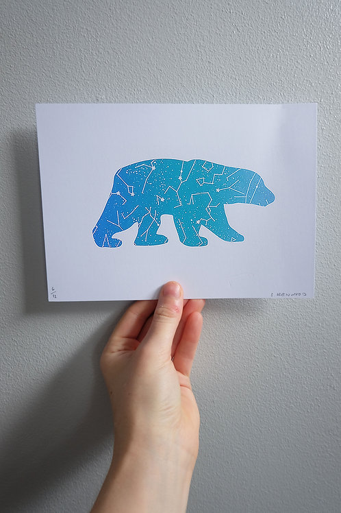 The Great Bear Print - A5