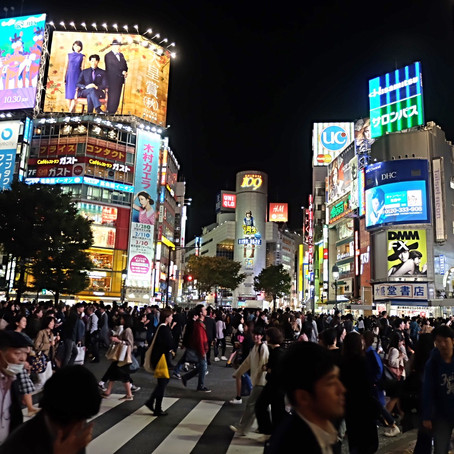 Travel in Japan: Part 1 - Tokyo at Night