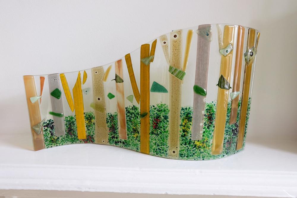 Hockney Inspired Glass Work
