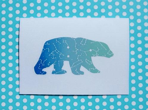 The Great Bear Greetings Card