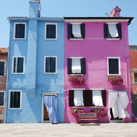 Travel: Burano: Europe's Most Colourful Houses just outside Venice