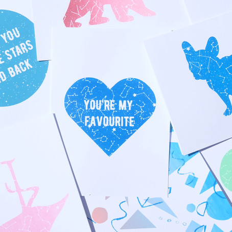 How to Personalise your Ink & Bear Cards with a Handwritten Note