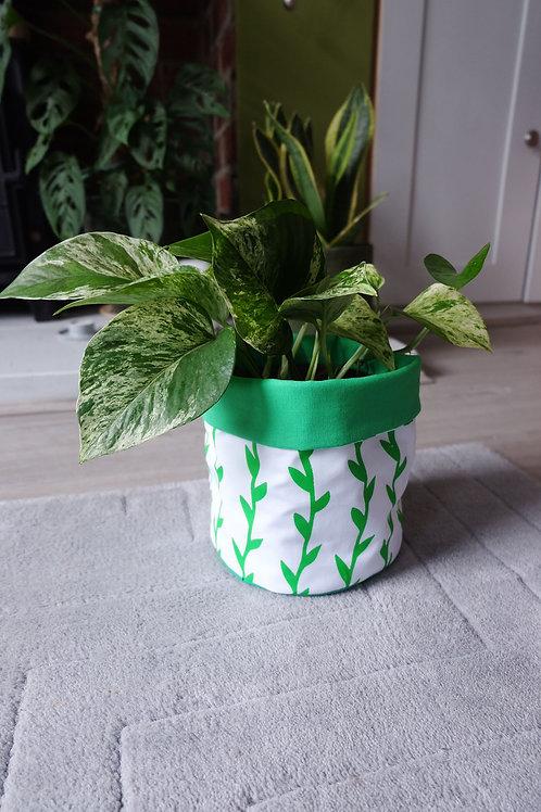 Medium Hand Printed Plant/Storage Bag