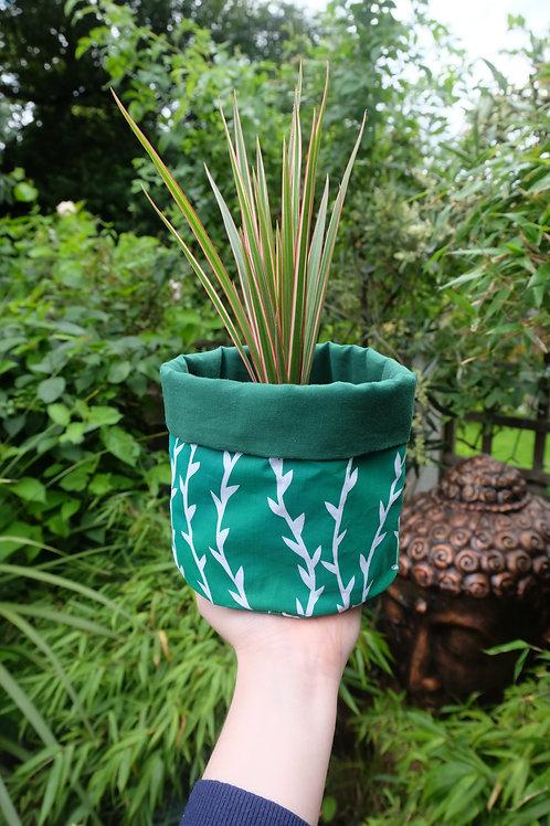 Large Hand Printed Plant/Storage Bag
